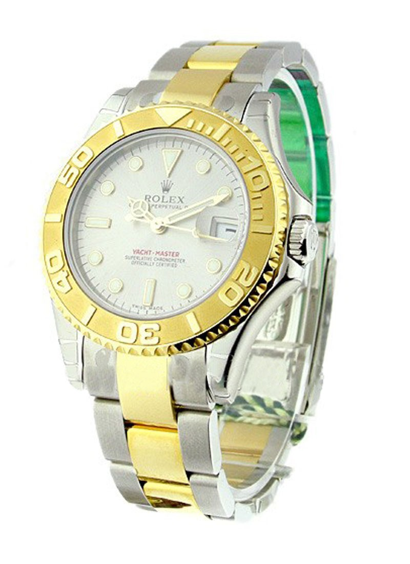 Rolex Unworn Yacht Master in Steel and Yellow Gold    168623