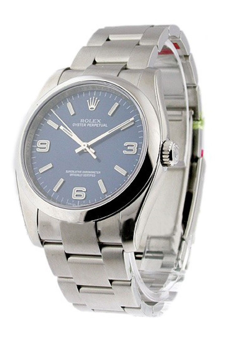 Rolex Unworn Men's Oyster Perpetual No Date in Steel with Domed Bezel
