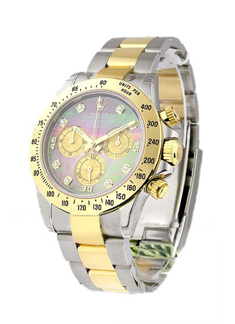 Rolex Unworn Daytona   Stainless Steel and Yellow Gold 116523
