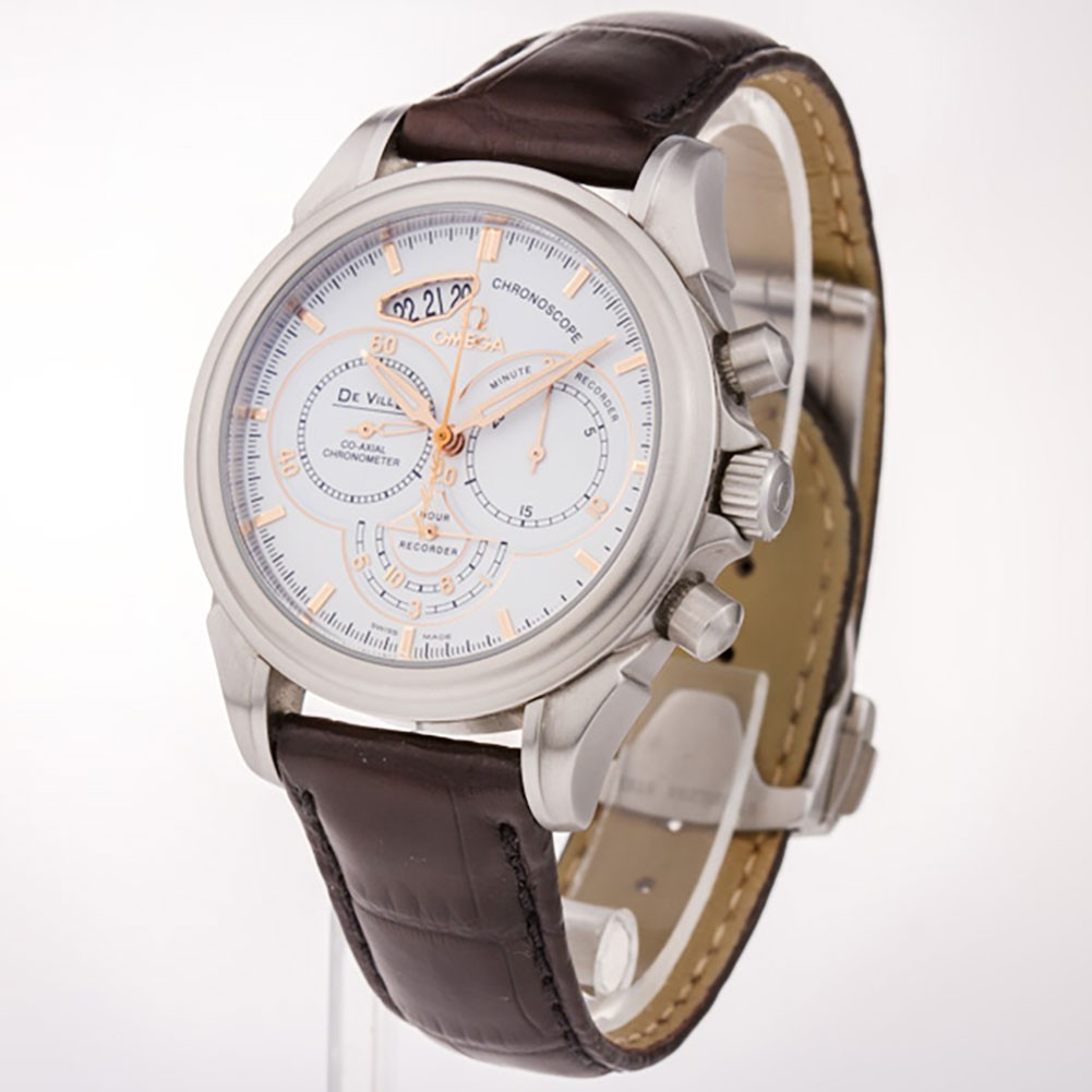Omega Co-Axial Chronoscope Chronograph in Steel