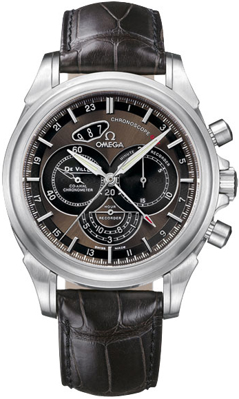Omega Co-Axial Chronoscope GMT Chronograph in Steel