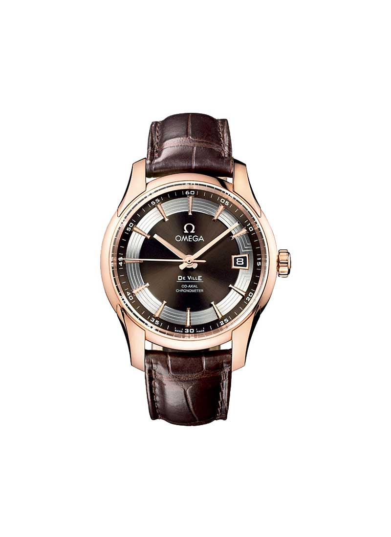 Omega De Ville Hour Vision in Rose Gold
