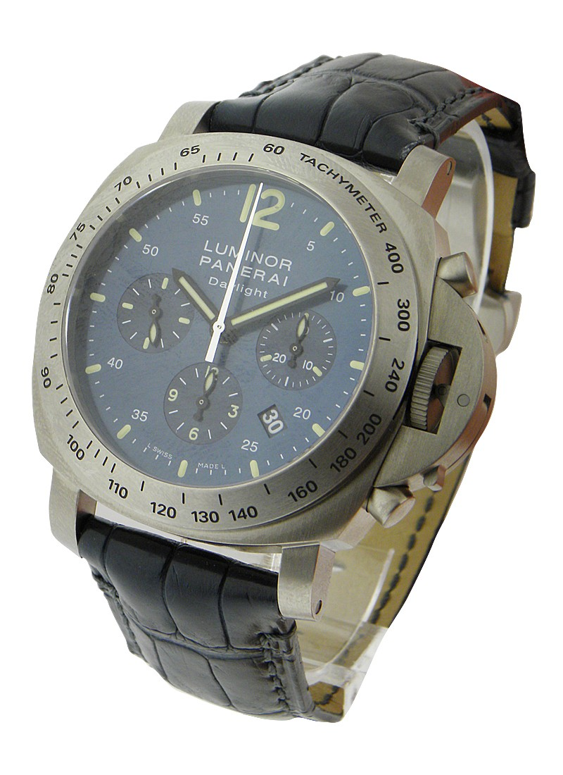 Panerai PAM 326 - Luminor Daylight Chronograph in Titanium