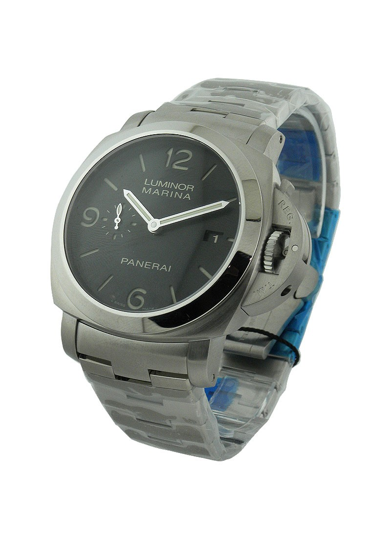 Panerai PAM 328  Luminor 1950 Marina 3 Days Automatic in Steel