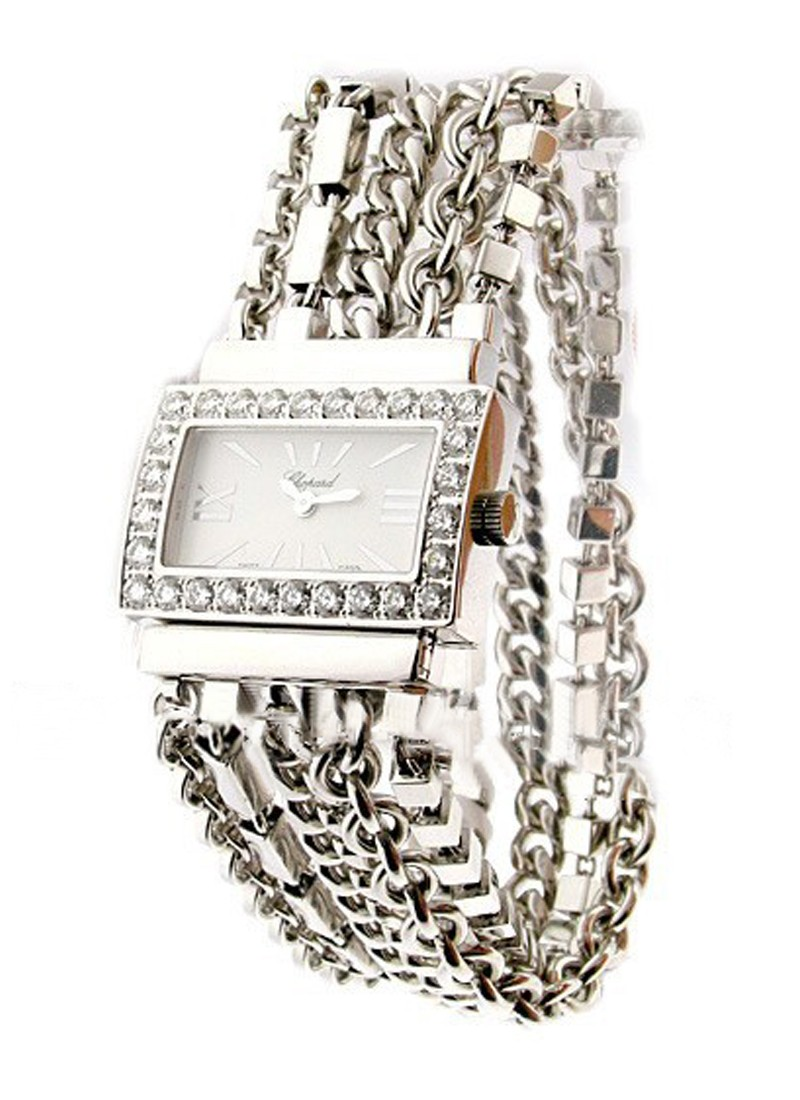Chopard Boutique Special Edition in White Gold with Diamond Bezel