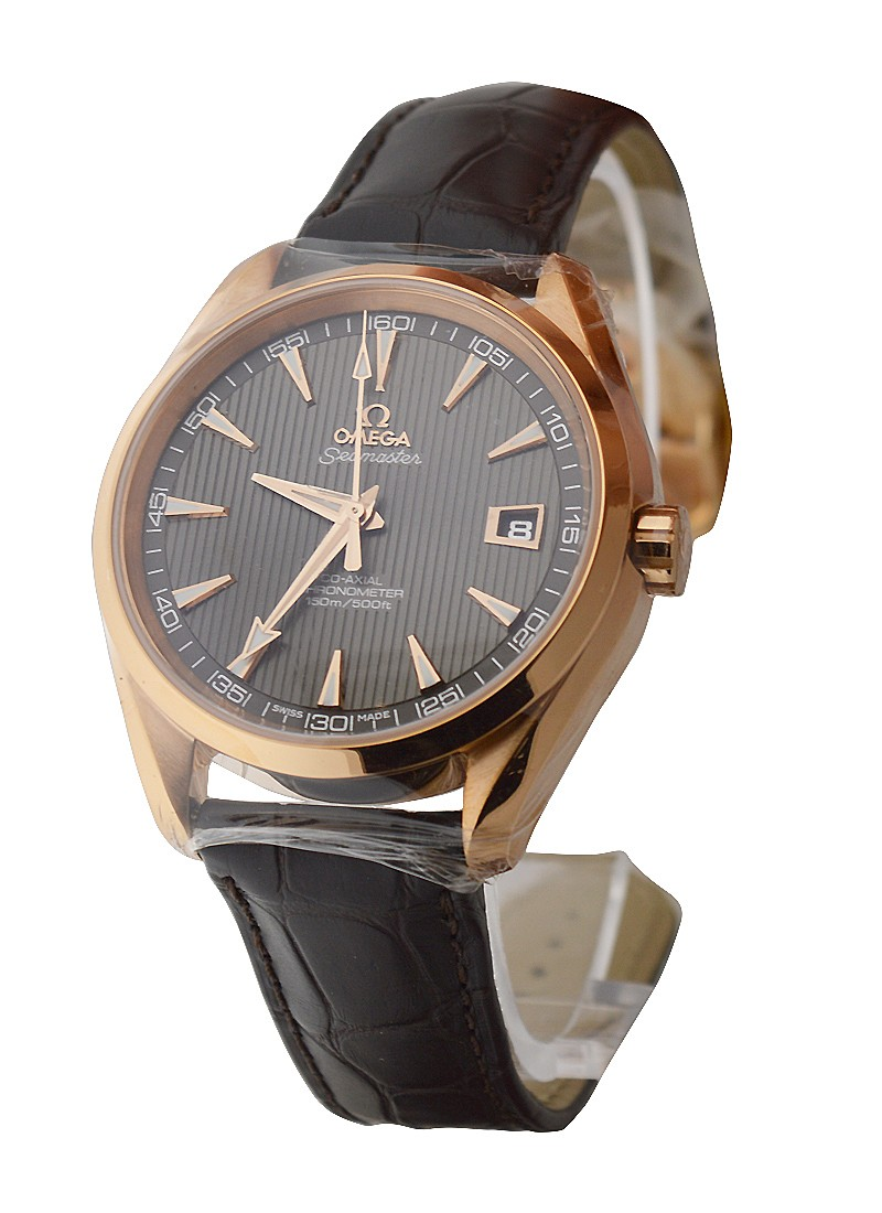 Omega Aqua Terra 42mm in Rose Gold