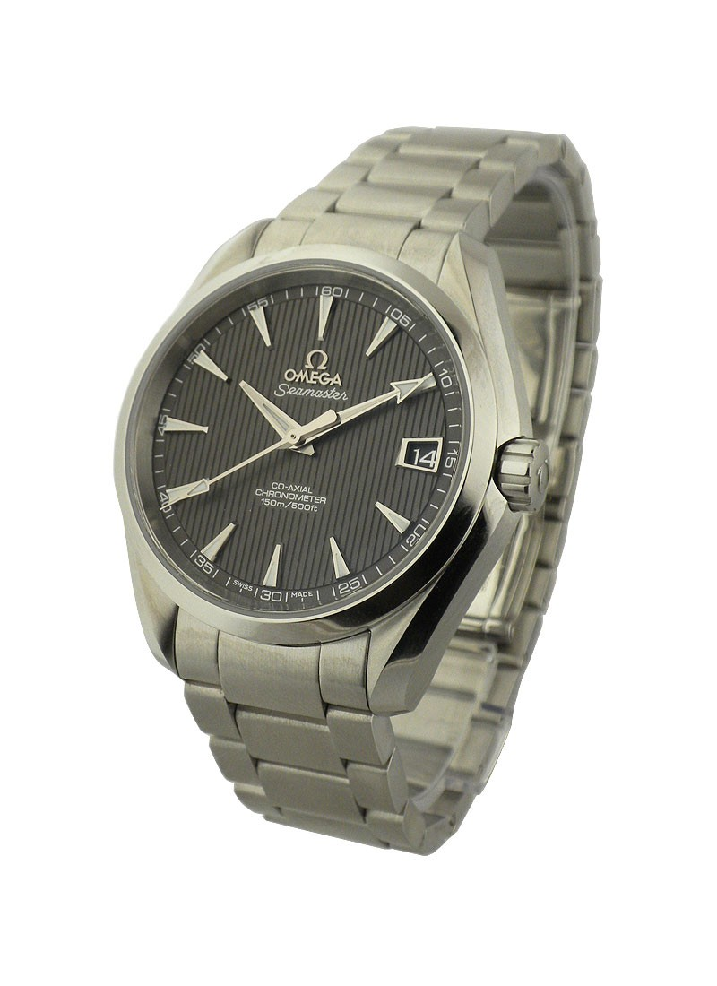 Omega Aqua Terra 150M Automatic in Steel