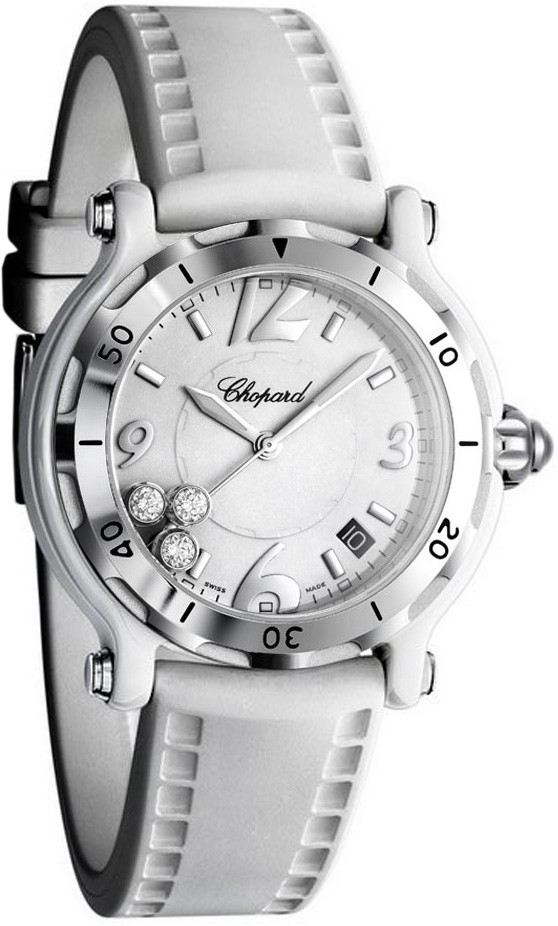 Chopard Happy Sport Round in Titanium