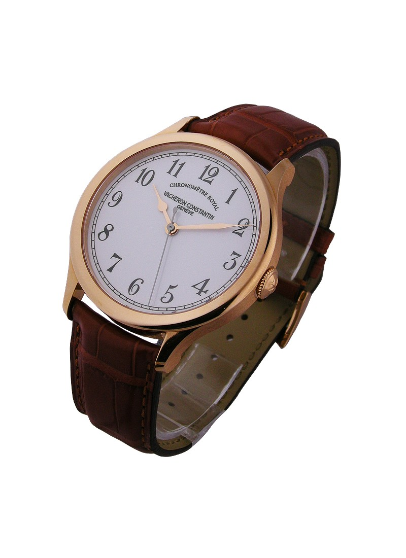 Vacheron Constantin Historiques Chronometre Royal 1907 in Rose Gold