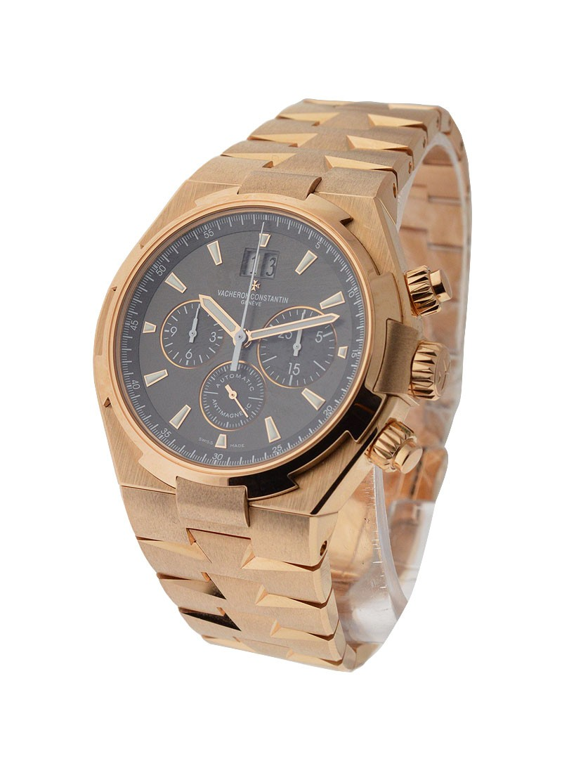 Vacheron Constantin Overseas Chronograph Miami Boutique in Rose Gold