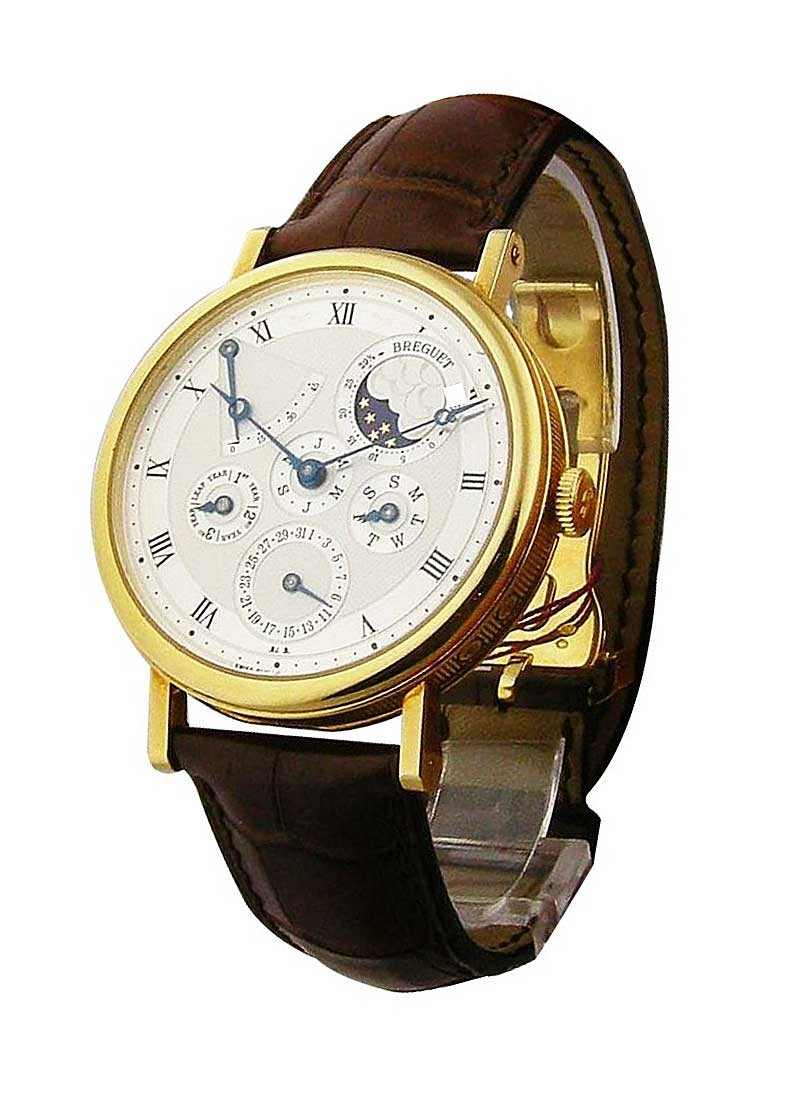 Breguet Classique Perpetual Calendar 39mm Automatic in Yellow Gold