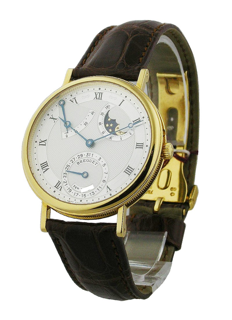 Breguet Classique Power Reserve Moon in Yellow Gold