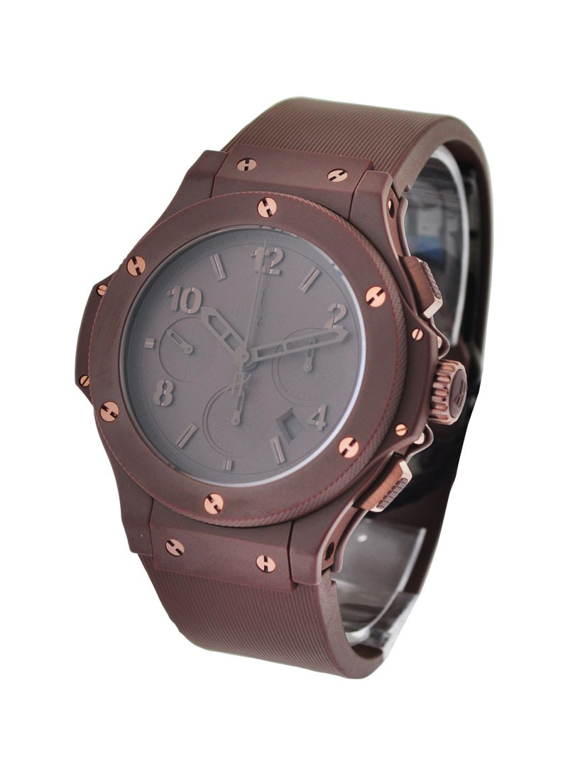 Hublot 44mm All Chocolate Bang in Chocolate Ceramic Bezel