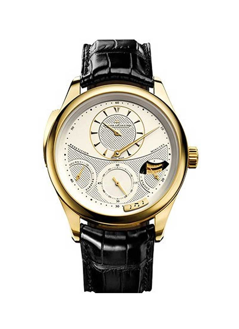 Jaeger - LeCoultre Master Grande Tradition Minute Repeater in Yellow Gold