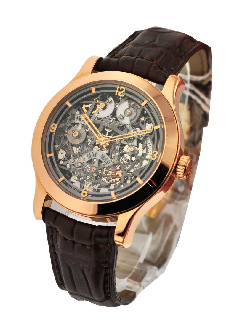 Jaeger - LeCoultre Master Eight Days Perpetual Skeleton