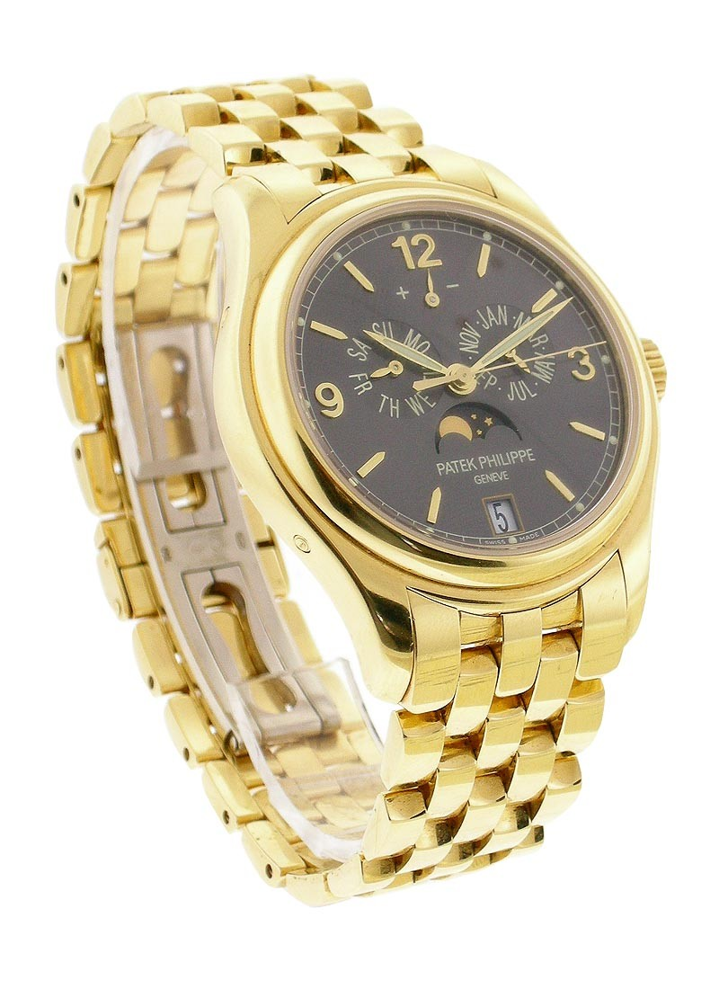 Patek Philippe 5146/1J Annual Calendar with Moon in Yellow Gold