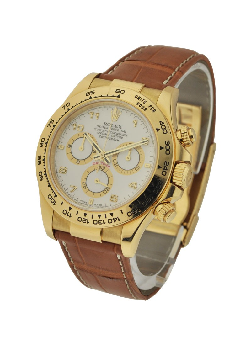 Rolex Used Daytona Cosmograph in Yellow Gold