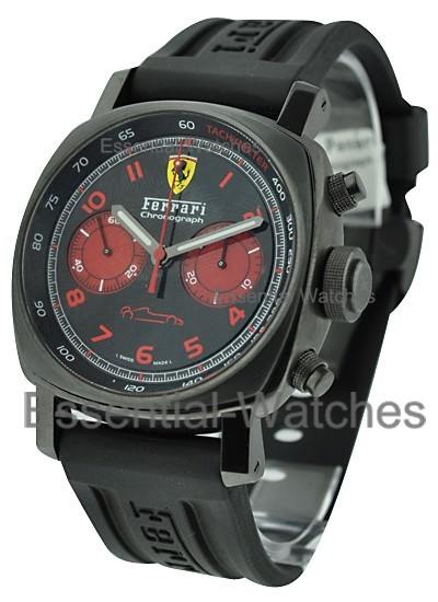 Panerai FER 038 - Ferrari Chronograph in PVD Black Steel