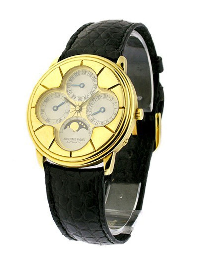 Audemars Piguet Men's Perpetual Calendar in Yellow Gold