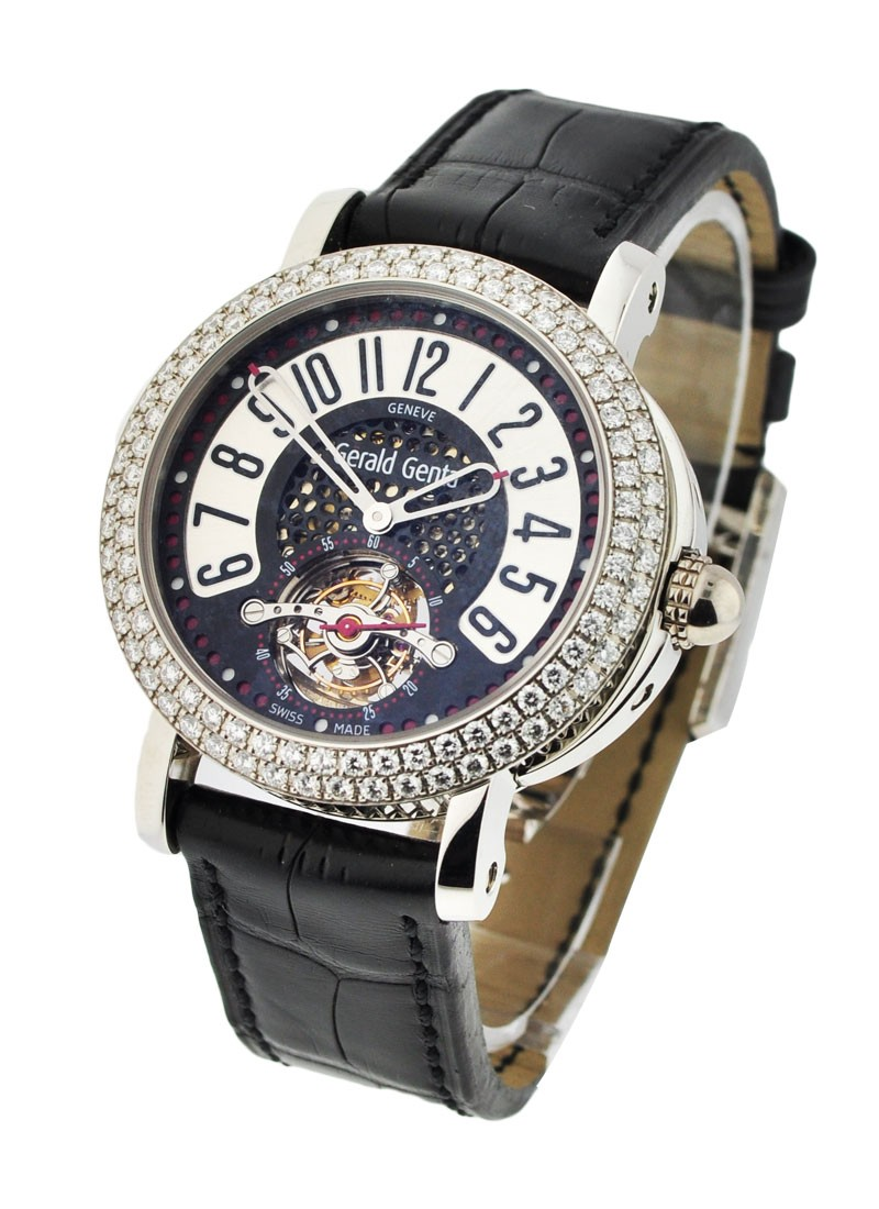 Gerald Genta Arena Tourbillon with Diamond Bezel