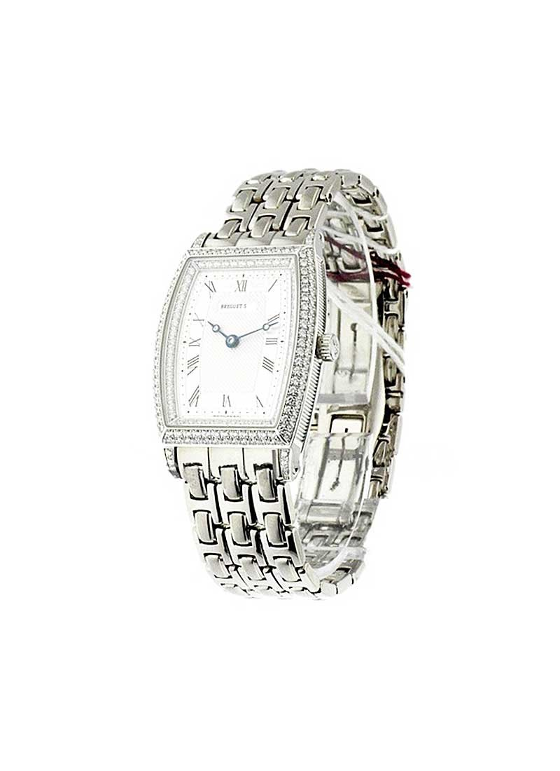 Breguet Breguet Heritage 29mm Automatic in White with Diamond Bezel and Lugs
