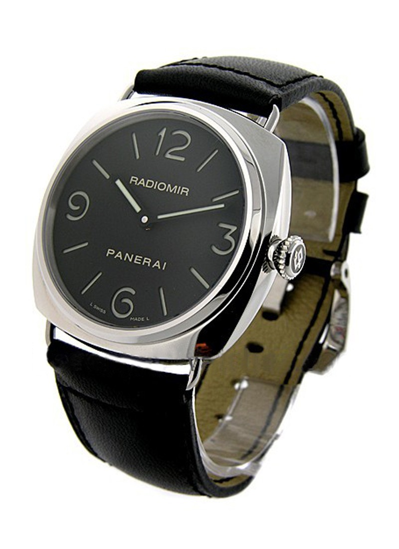 Pam 00210 Panerai Radiomir Base Steel Essential Watches