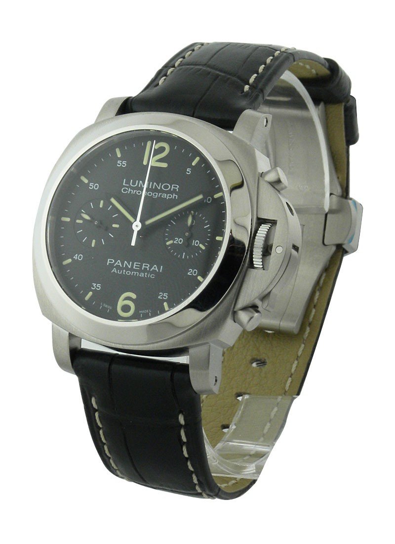 Panerai PAM 310 Luminor Chronograph in Steel