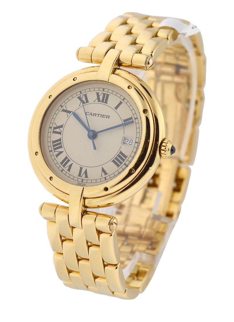 Cartier Large Size Vendome in Yellow Gold