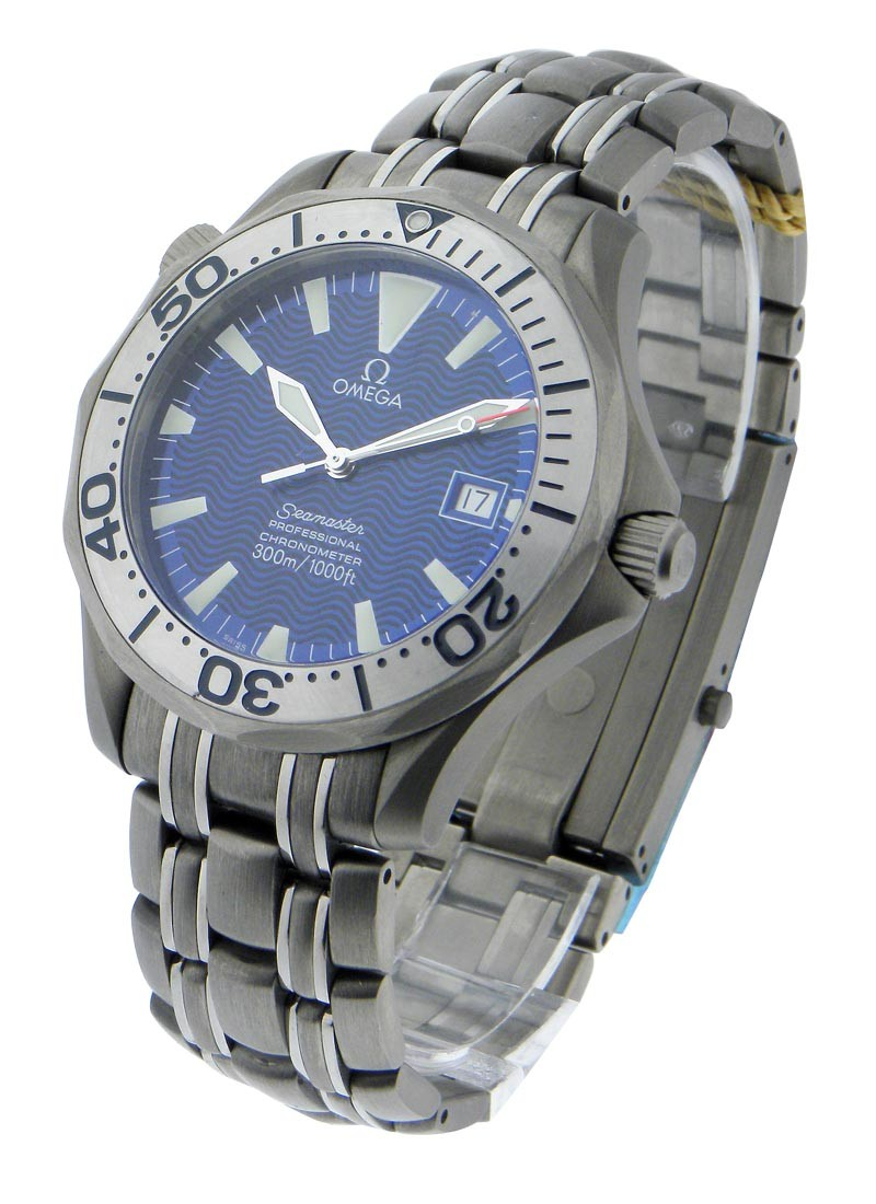 Omega Seamaster Pro 41mm Automatic in Titanium