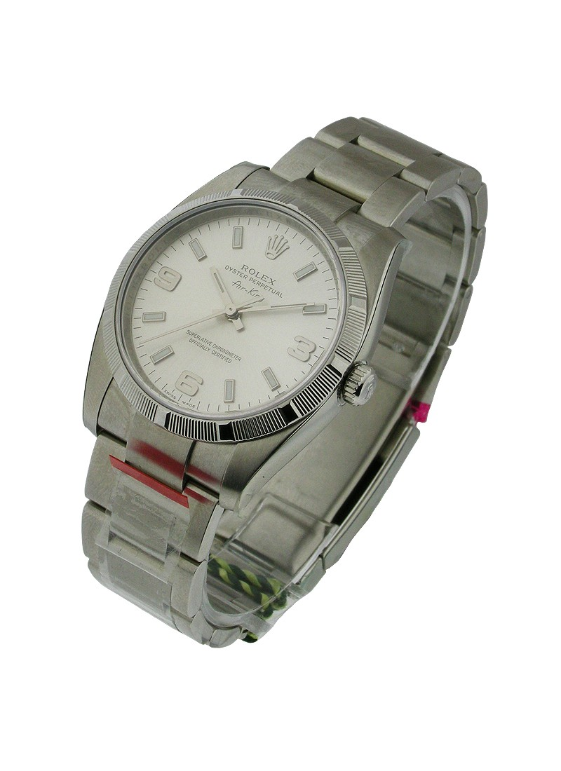 Rolex Unworn Air King with Engine Bezel