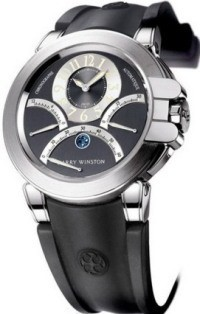 Harry Winston Ocean Triple Retrograde Chronograph 44mm in White Gold with Zalium