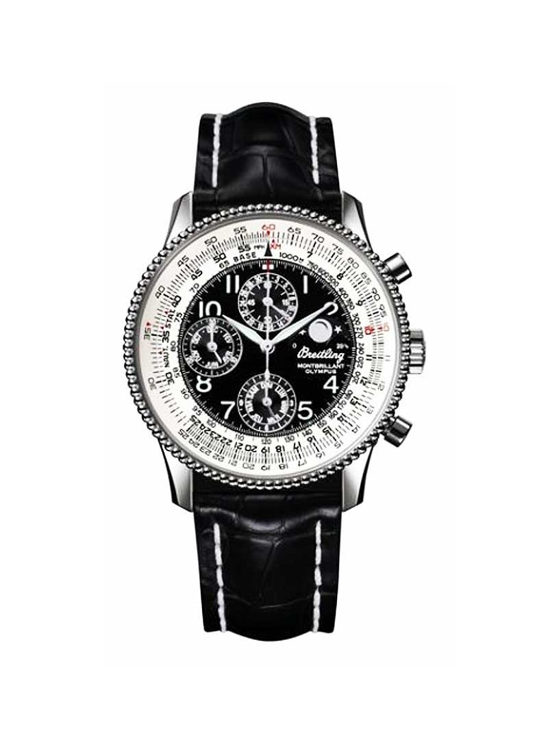 Breitling Montbrillant Olympus Chronograph 43mm in Steel