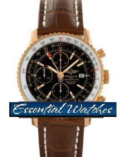 Breitling Navitimer World Chronograph in Rose Gold   Limited Edition