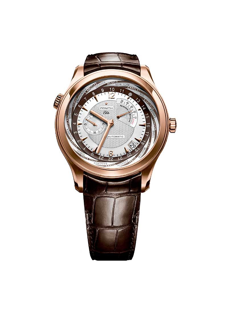 Zenith Class Traveller Multicity in Rose Gold