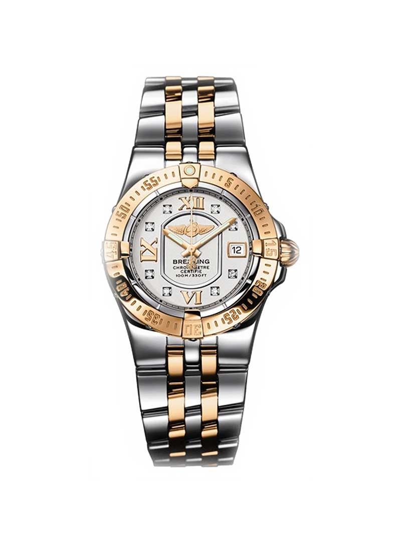 Breitling Starliner 2008 30mm in Rose Gold and Steel