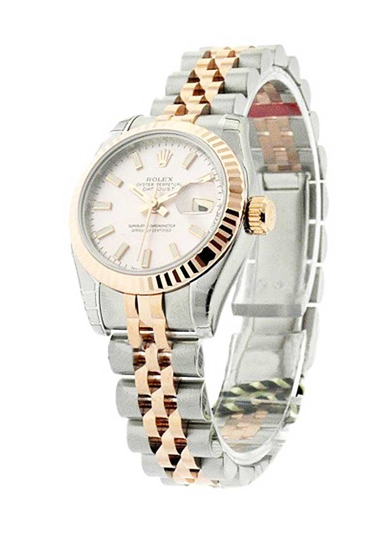 Rolex Unworn Lady's DATEJUST   RG and SS  179171