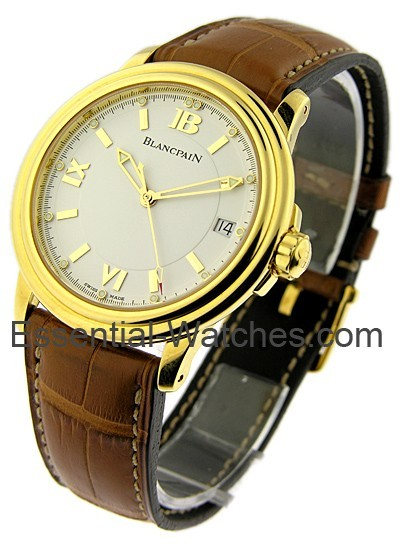 Blancpain Leman Ultra Slim in Yellow Gold