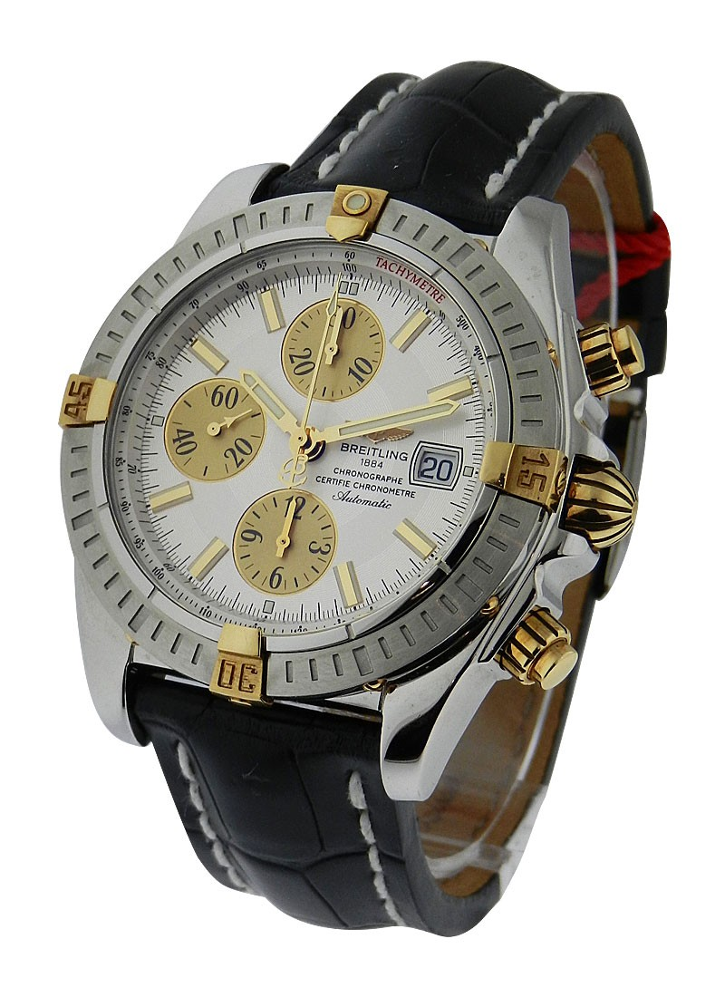 Breitling Chronomat Evolution Men''s Automatic in 2-Tone