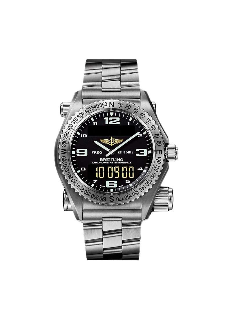 Breitling Aerospace Advantage Co-pilot Emergency in Titanium