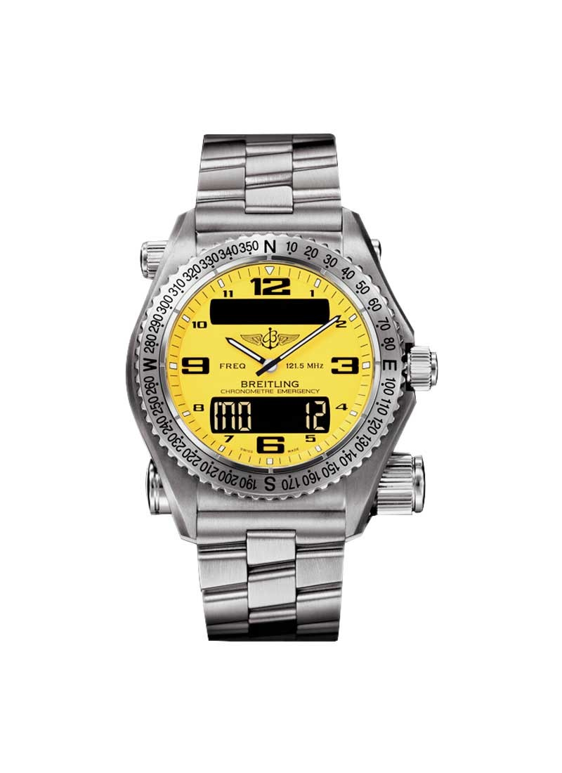 Breitling Emergency Multinational 43 mm in Titanium