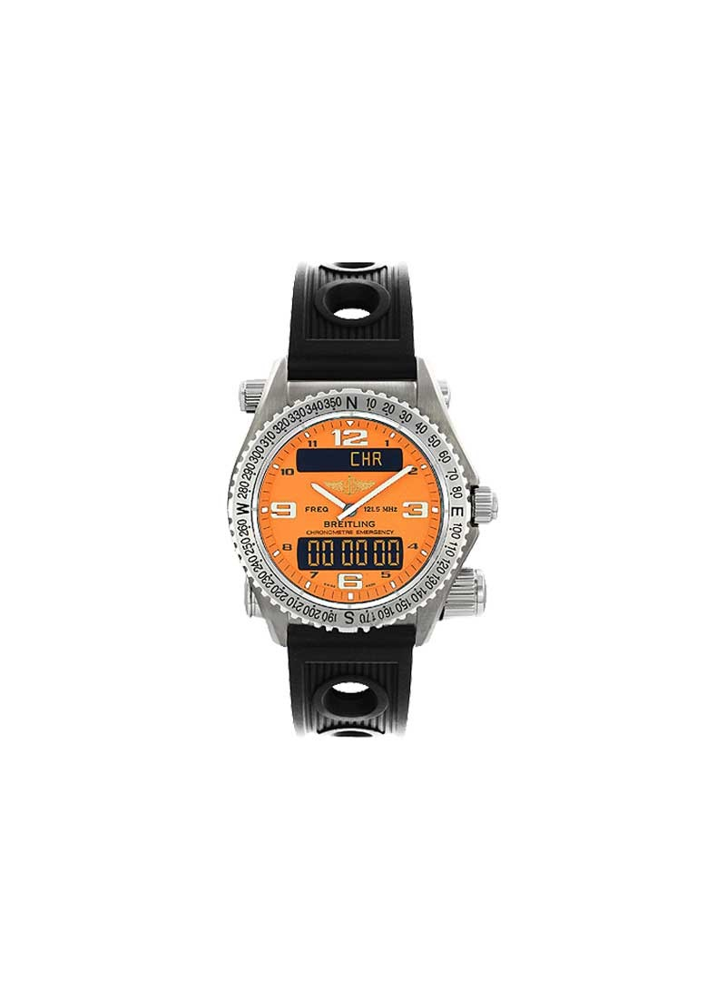 Breitling Emergency Mission Men''s Quartz in Titanium