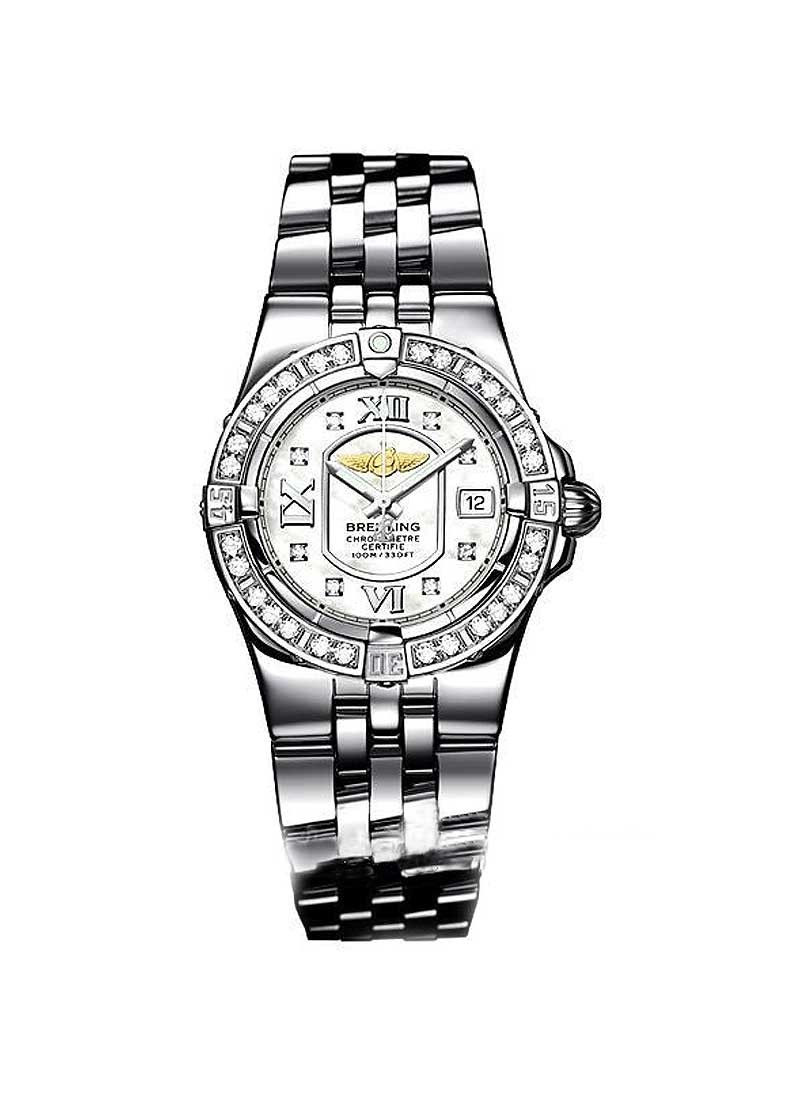Breitling Lady's Starliner with Diamond Bezel