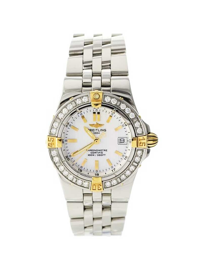 Breitling Lady''s Starliner - Diamond Bezel