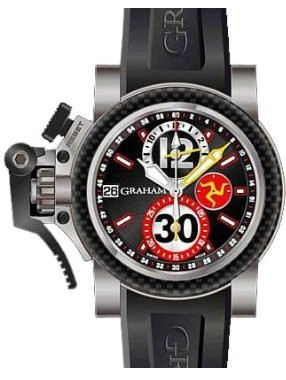 Chronofighter Oversize Titanium Tourist Trophy