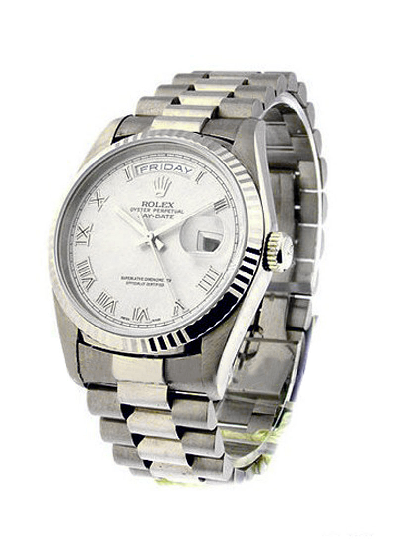 Pre-Owned Rolex President - Day Date - White Gold - 36mm
