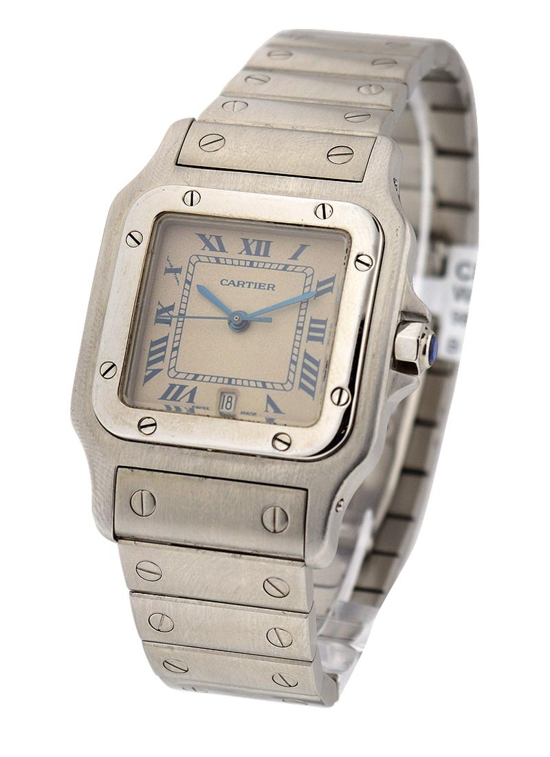 Cartier Santos - Large Size Quartz