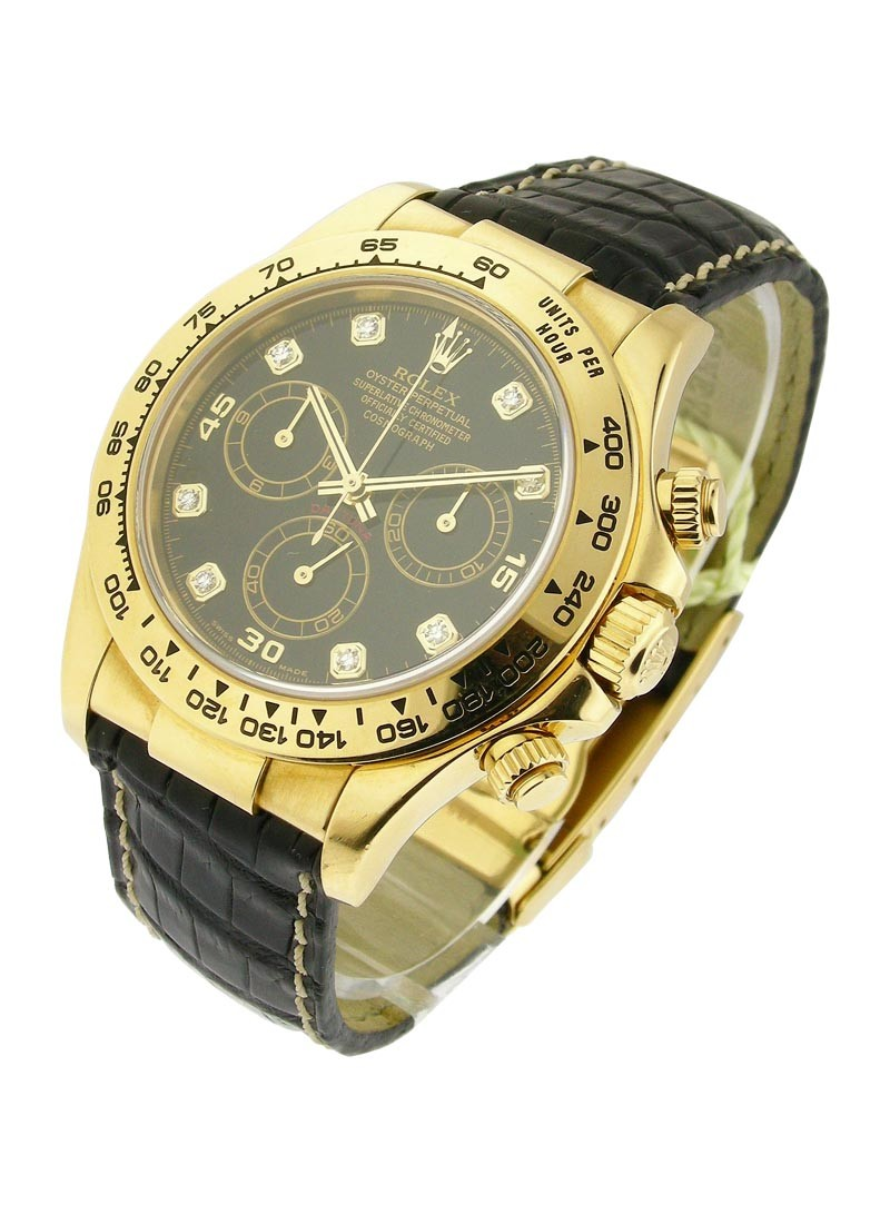 Rolex Used Daytona Yellow Gold with Rolex Movement 116518