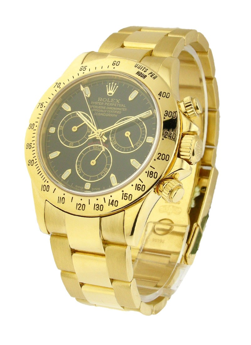 Pre-Owned Rolex Daytona 40mm in Yellow Gold