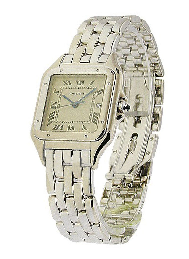 Cartier White Gold Panther   Large Size
