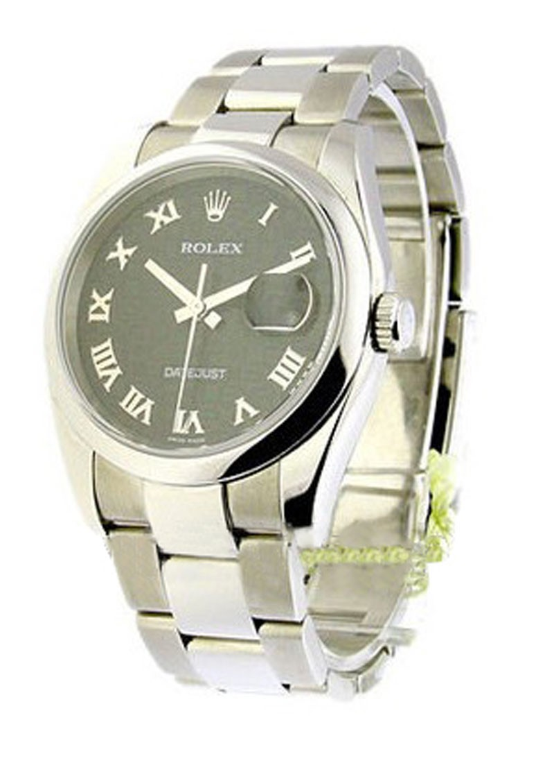 Rolex Used Mens Steel Datejust with New Style Datejust